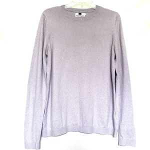 Topman Heathered Lilac Pullover Sweater M